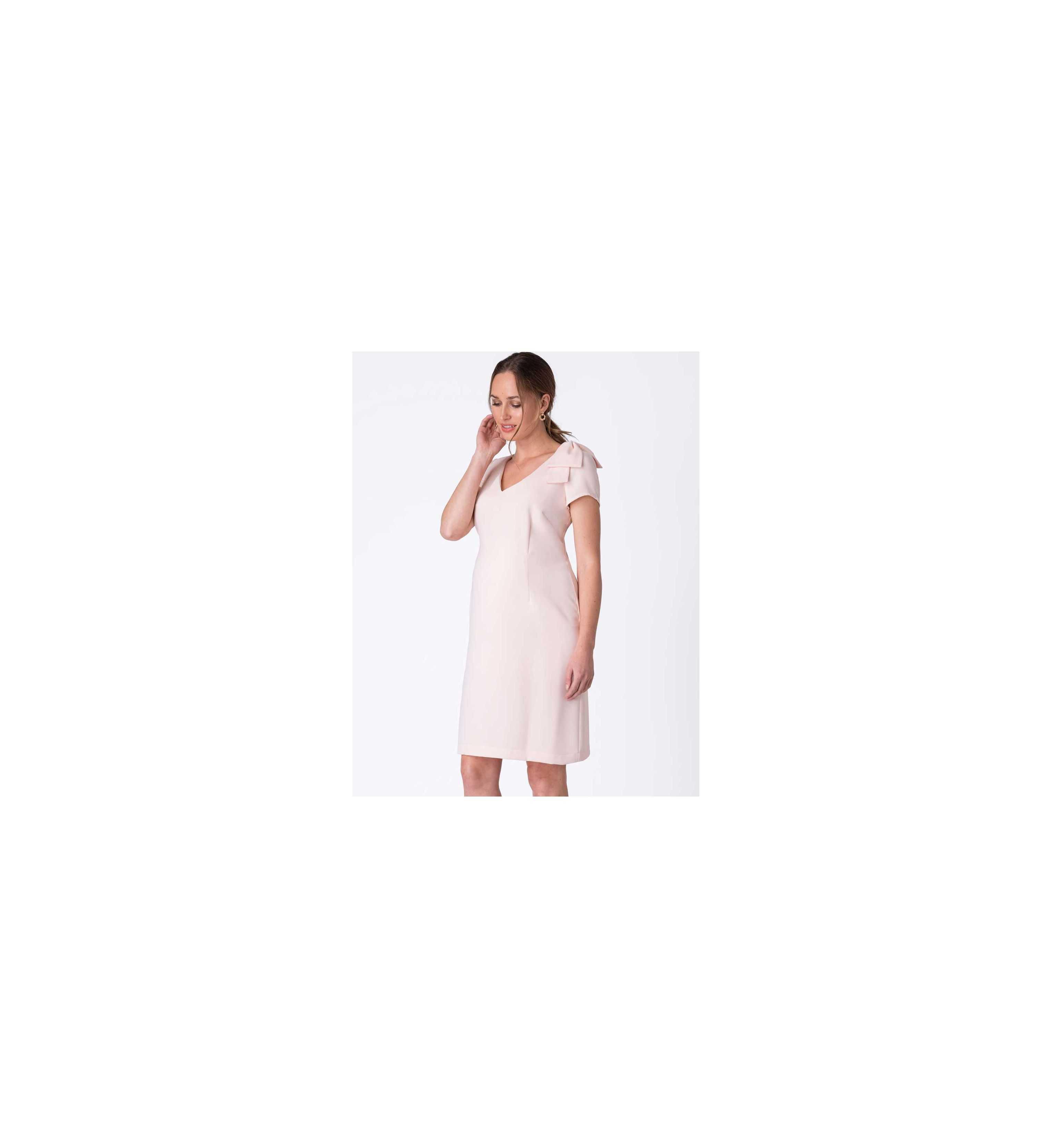 Robe de grossesse habillée Kylie rose blush