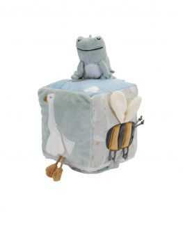 Cube d'activité tissu Petite Oie