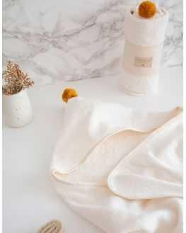 Cape de bain coton naturel So Cute