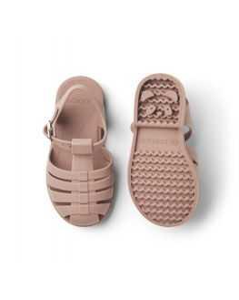 Sandales de plage rose foncé Bre