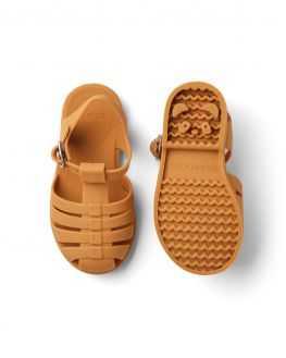 Sandales de plage moutarde Bre