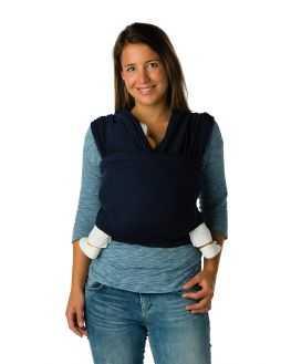 Echarpe de portage longue Coton Bio - Blue Jeans