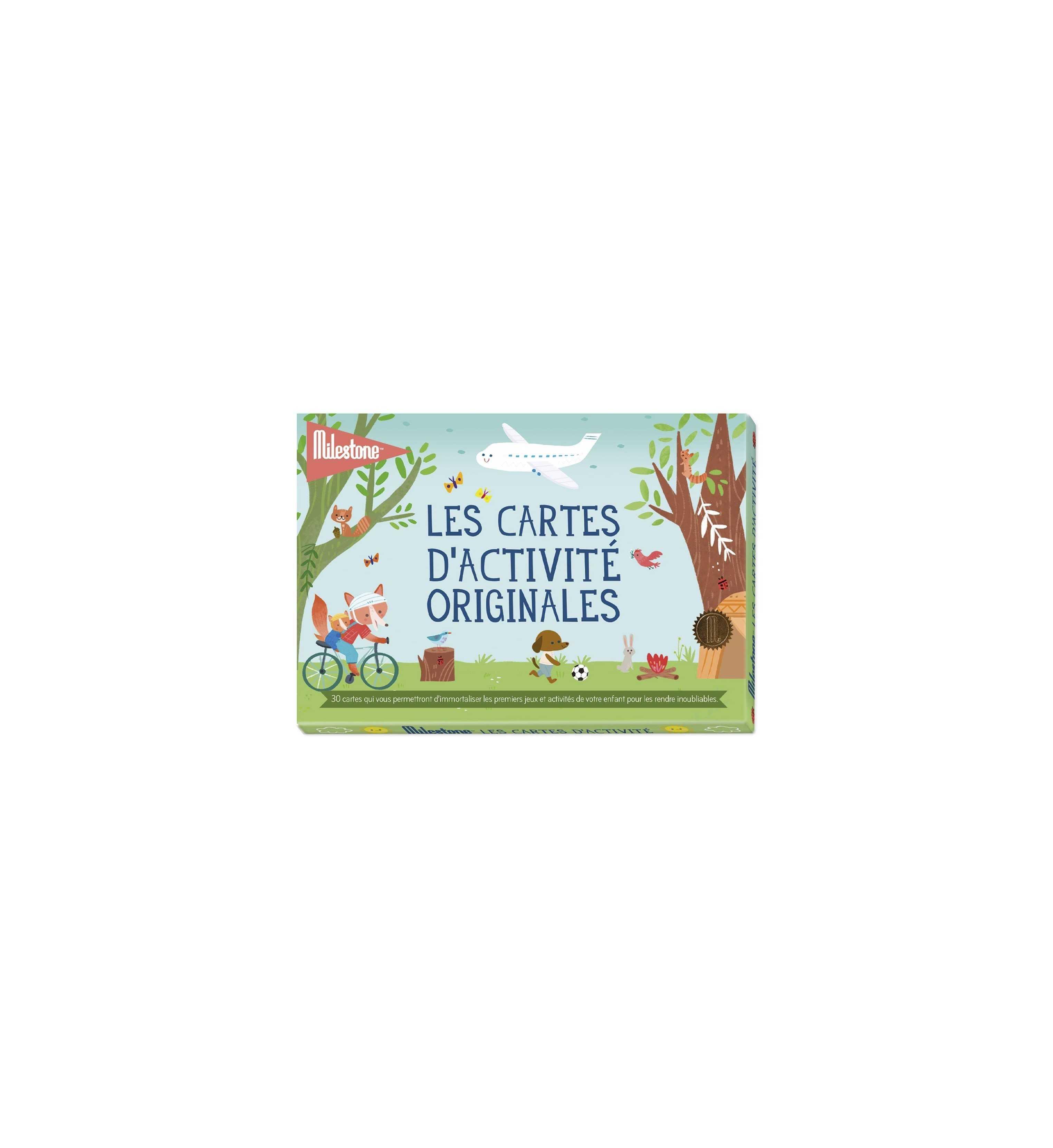 Cartes souvenirs activité originales