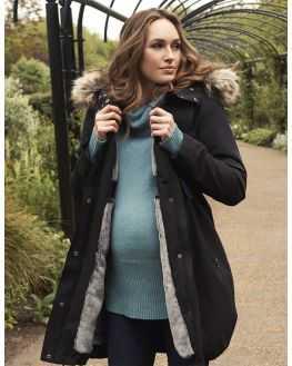 Parka grossesse couvre bébé
