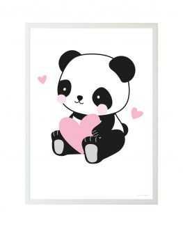 Poster Panda Love 50*70 cm