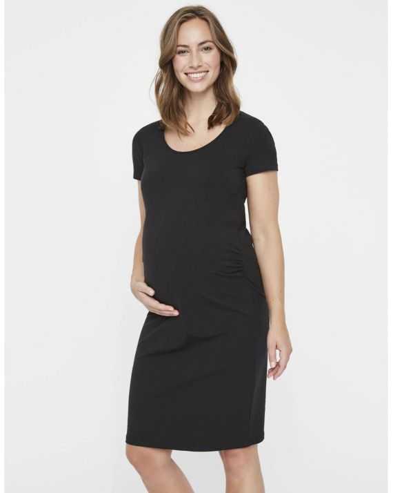 Robe de grossesse noire Léa