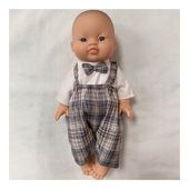 Poupon est prêt pour le Réveillon ✨  Et vous les futures mamans, avez-vous trouvé la tenue parfaite?  #grossesse #maternité #femmeenceinte #tenuereveillon #poupon #minikane #paolareina #babyconceptstore #baigneur #dinan #inelle